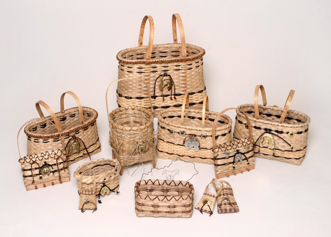 horse lovers basket collection